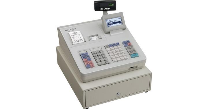 Caisse enregistreuse SHARP XE-A307SF